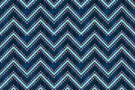 Aviana Chevron 3b_Green fabric by schatzibrown on Spoonflower - custom fabric