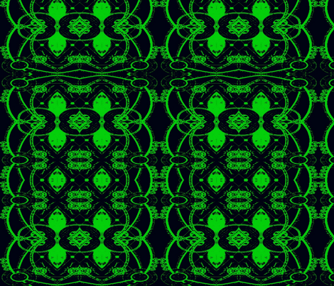 The Green Fairy fabric by elphaba09 on Spoonflower - custom fabric