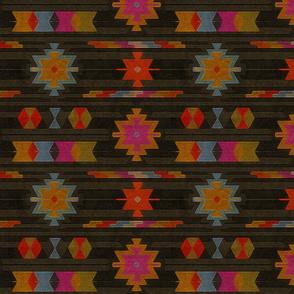 vibrant kilim