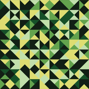 Scattered Triangle Green