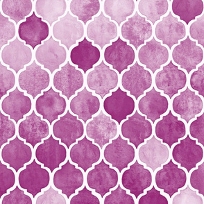 Textured Plum Purple Moroccan Tiles