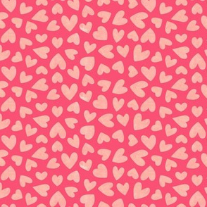 Love Hearts Pink Small