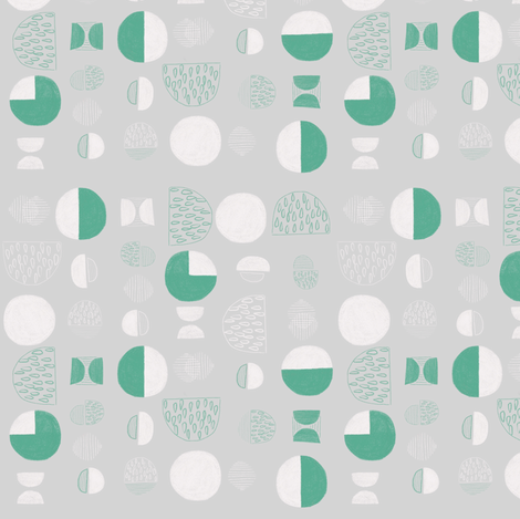 Nordisk 06 fabric by youdesignme on Spoonflower - custom fabric