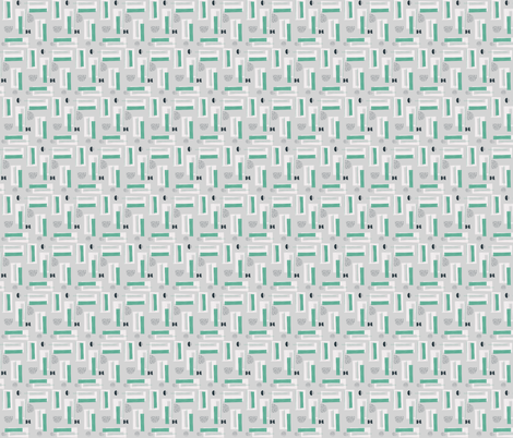 Nordisk 03 fabric by youdesignme on Spoonflower - custom fabric