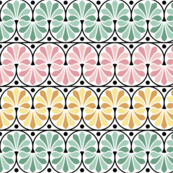 07157305 : greek deco : spring flourish