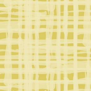 Large Linen Texture Yellow Gold White  distressed grunge check home decor _ Miss Chiff Designs
