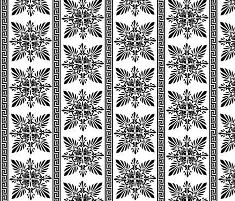greek pattern fabric by kitty_legg on Spoonflower - custom fabric