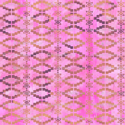 Aviana stripe_2c_Pink