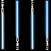 Laser Swords - Blue - Large