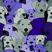 Dogs are compassionate purple