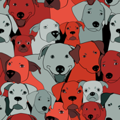 Dogs are compassionate red