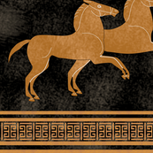 Greek Horse Stripe