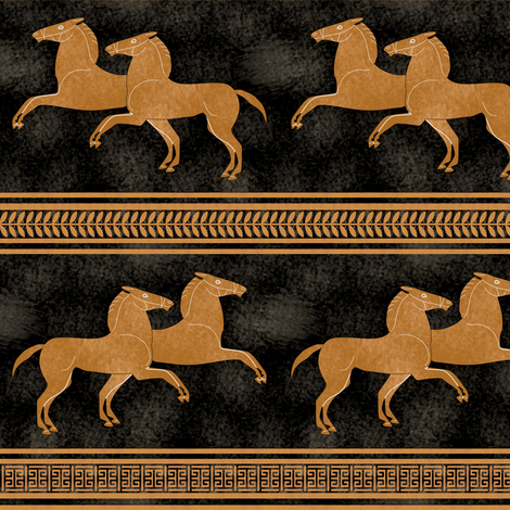 Greek Horse Stripe fabric by eclectic_house on Spoonflower - custom fabric