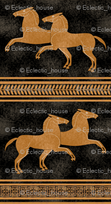 Greek Horse Stripe