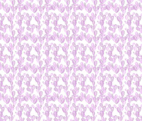 paddle cactus // eab8e4 // small fabric by ivieclothco on Spoonflower - custom fabric