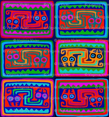 Peruvian Folk Art Serpent