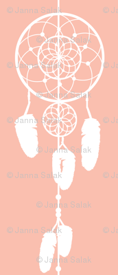 Dreamcatcher Apricot Pink