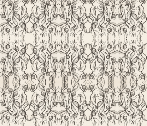 Olives fabric by serogers on Spoonflower - custom fabric