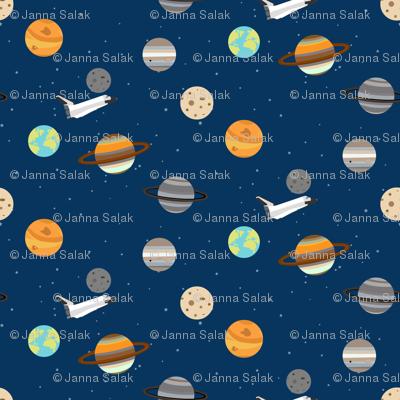 Space Shuttle Planet Exploration