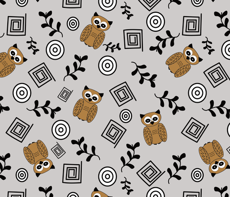 Its All Greek fabric by renatajeanstudios on Spoonflower - custom fabric
