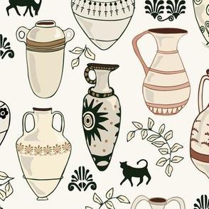 Amphora - H White