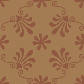 Greek Tile -Sienna