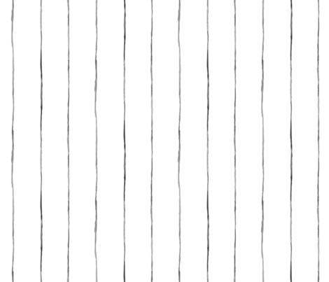Minimal-black white-Stripe fabric by crystal_walen on Spoonflower - custom fabric