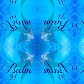 Psalm 91 skyblue