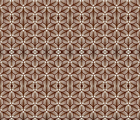 No Leaf Unturned fabric by whimzwhirled on Spoonflower - custom fabric