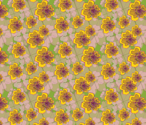 Sakurasou-Petals fabric by desgn_prnt on Spoonflower - custom fabric