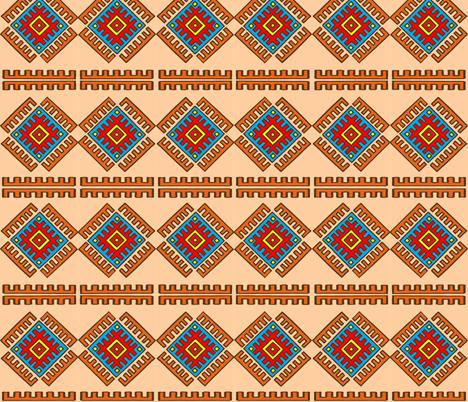 Turkish carpet fabric by tatjana_melikhova on Spoonflower - custom fabric