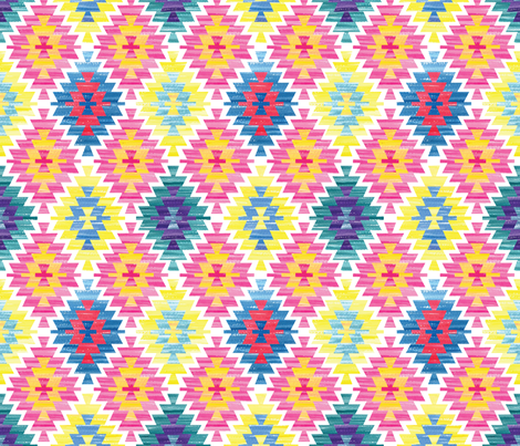 Kilim  fabric by marta_strausa on Spoonflower - custom fabric