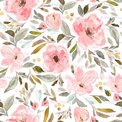 Indy Bloom Design Sweet pea garden B