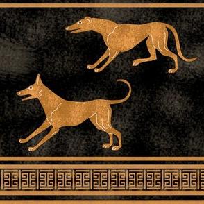 Greek Dog Stripe