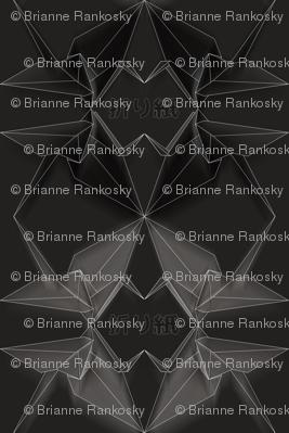 Origami Geo Cranes