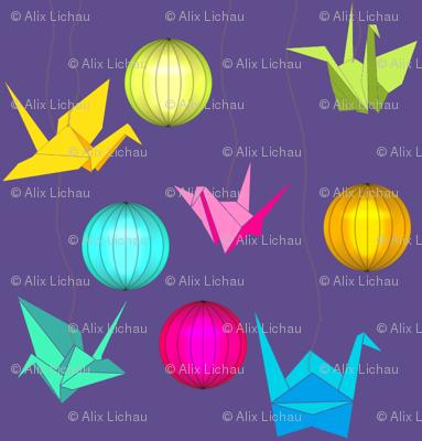 origami ultra violet