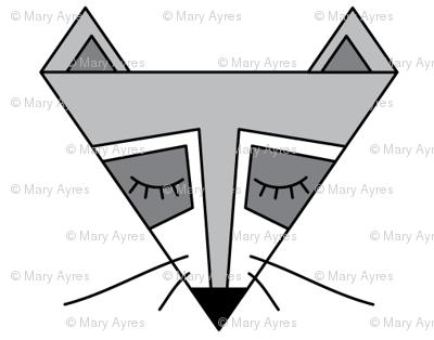raccoon-triangles
