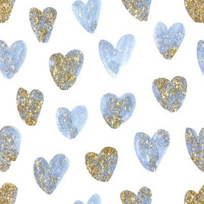 Heart of Gold // Cerulean Blue