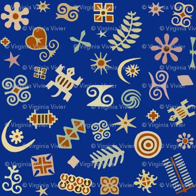 African Folk Art Symbols
