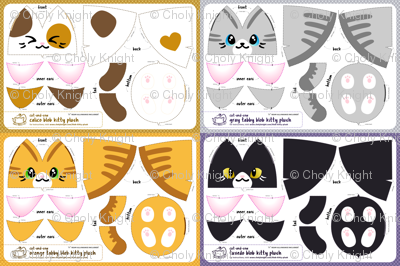 Cut & Sew Blob Kitty Plush Compilation