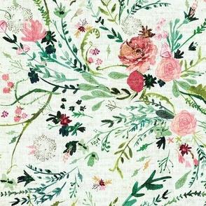Fable spring floral (MED) (mint)