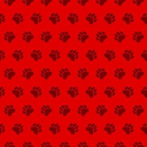 Puppy Pattern - Paw Prints