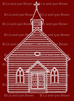 Little Church on Burgundy // Small