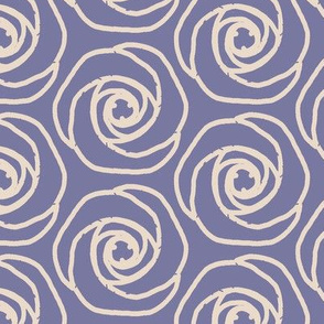 Soft hexagonal flowers-p