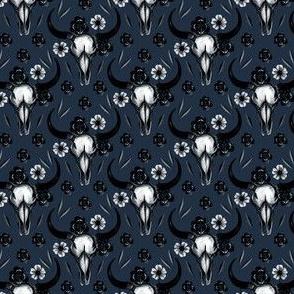Bull skulls small scale
