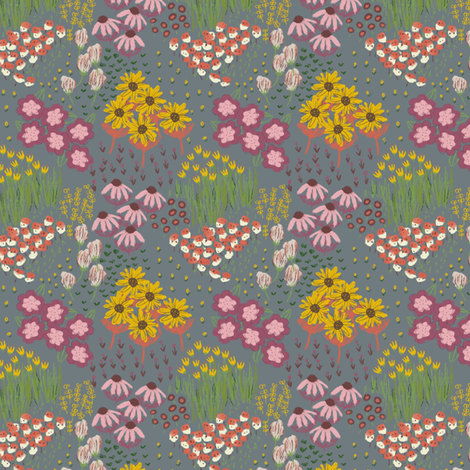 Stormy meadow fabric by ruth_robson on Spoonflower - custom fabric