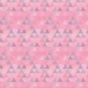 Pink Dream Triangles