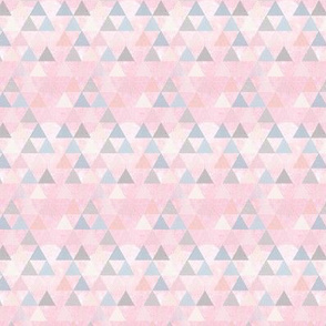 Baby Pink Dream Triangles