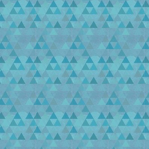 Teal Dream Triangles