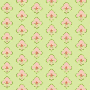 Fleur de Lis SMALL 133 - Kiwi